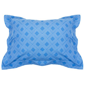 Diamond Elegance Grey Oxford Pillowcase Pair