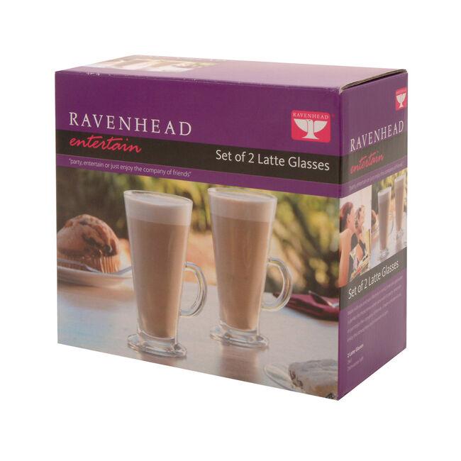 Entertain Latte Glasses 2 Pack