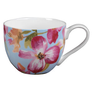 Knutsford Clematis Bone China Mug