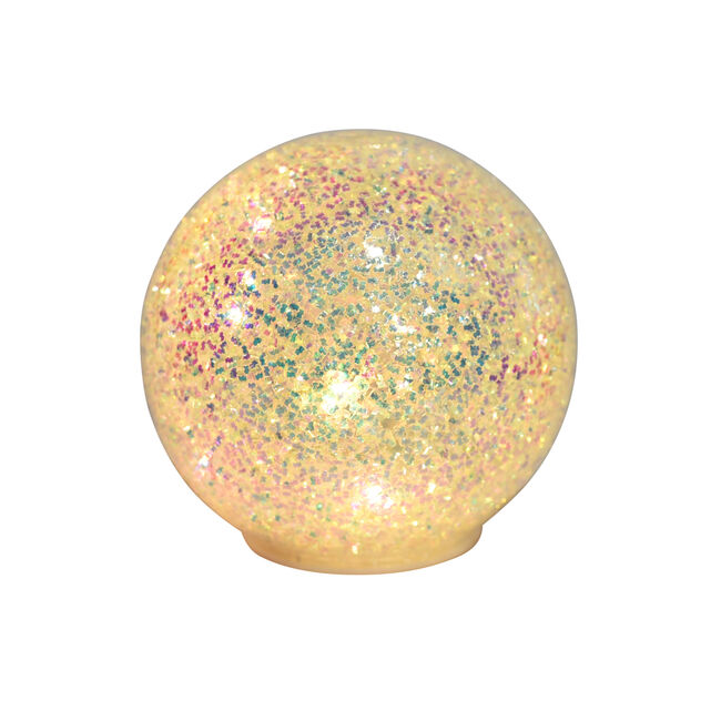 10 LED Decorative Glitter Ball Light