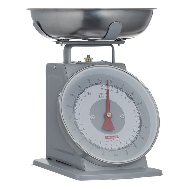 Typhoon Living Kitchen Scale - Grey