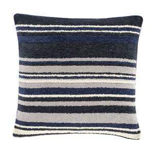Rhea Stripe Cushion 58 x 58cm - Navy