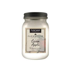 Tuscany Farmhouse 12oz Candle Crisp Apple