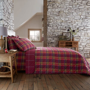 Brushed Cotton Ni Ghallachoir Bedspread 200x220cm