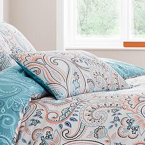 Avril Aqua Cushion 30x50cm