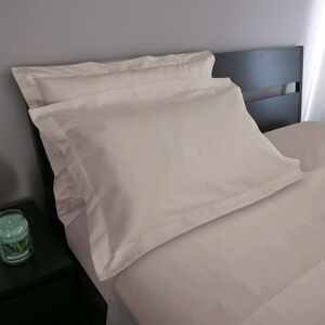 Oxford 500 Threadcount Cotton Pillowcase Pair