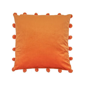 Large Bobble Cushion 45x45cm - Orange