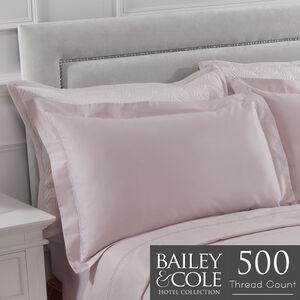 Chevron 400 Threadcount Oxford Pillowcase Pair