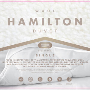 Hamilton Wool Duvet Single
