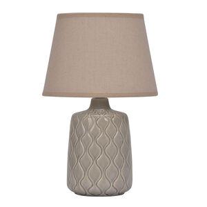 Ceramic Quarry Grey Table Lamp