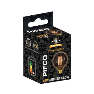 Pifco Vintage 40W Bulb (G95 BC)