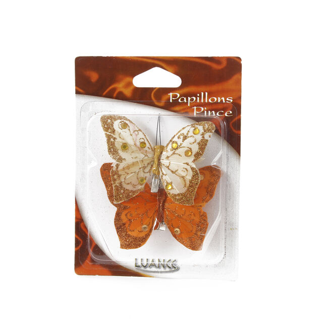 Butterfly Curtain Clips 2 Pack
