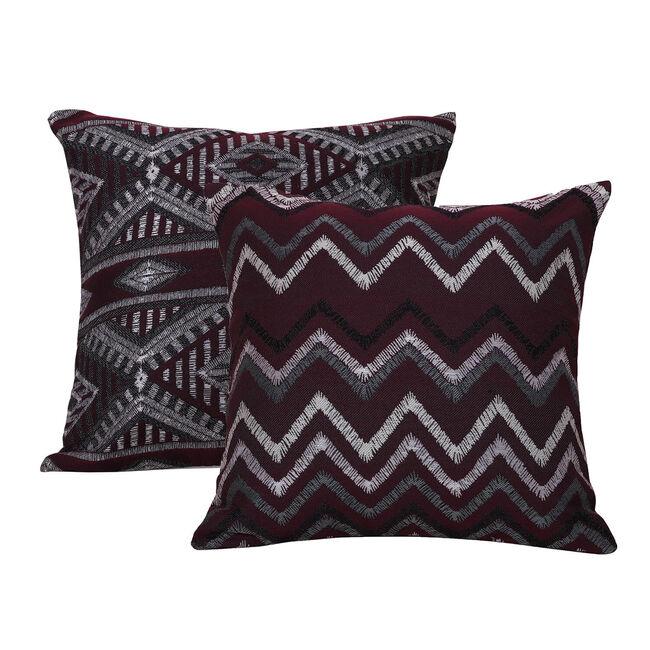 Tribal Cushion 58 x 58cm - Plum