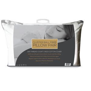 Cluster Ball Fibre Pillow Pair