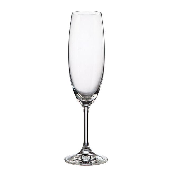 Bohemia Cristallin 6 220ml Flute Glasses