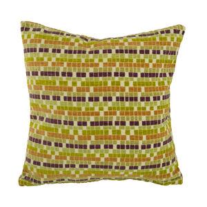Boxes Cushion Purple 58cm x 58cm