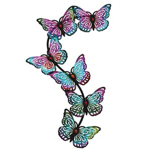 Butterfly Swarm Garden Wall Art