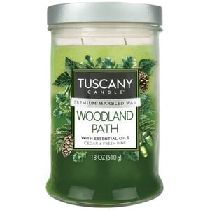 Tuscany Triple Pour Candle Woodland Path
