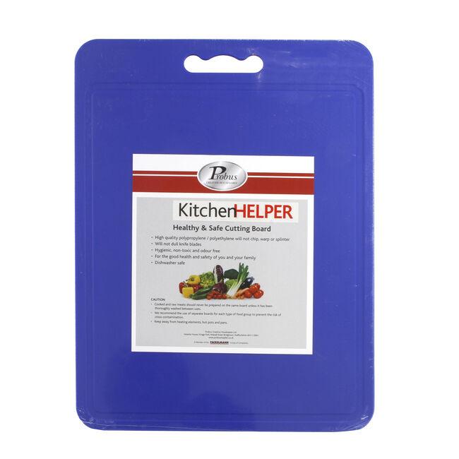 Probus Kitchen Helper Cutting Board Blue
