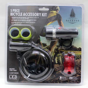 Bicycle Accessory Kit 5 Piece