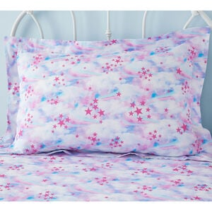 Unicorn Dreams Oxford Pillowcase Pair - Pink