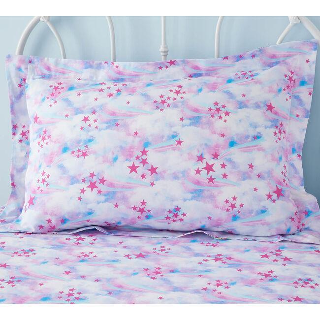 Unicorn Dreams Oxford Pillowcase Pair - Pink