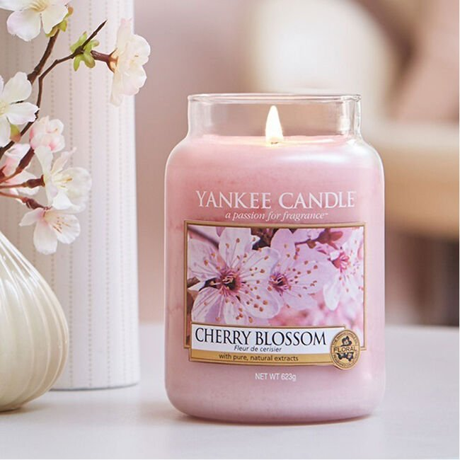 Yankee Candle Cherry Blossom Large Jar