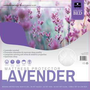 Lavender Mattress Protector