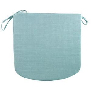 Woven Kitchen Seat Pad - Duck Egg