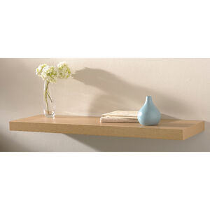 Capri Floating Wall Shelf Set Beech