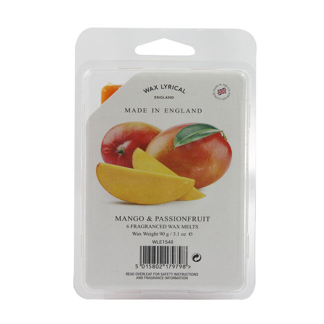 Mango & Passionfruit Box of 6 Melts