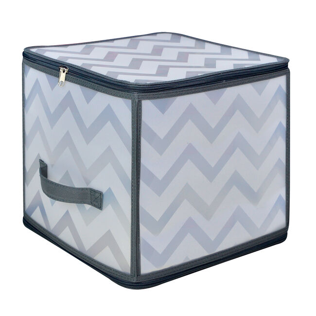 Clever Zigzag Clothes Cube Storage