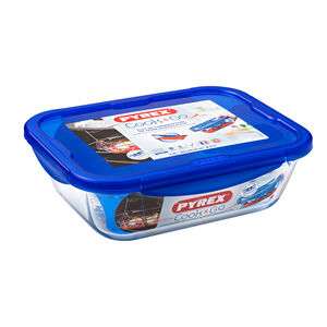 Cook and Go Rectangular Dish with Lid
