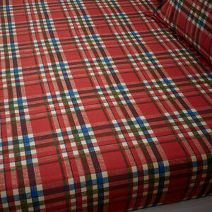 PATCHWORK SANTA Single Fitted Sheet