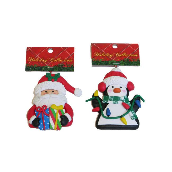 Santa/Penguin Christmas Tree Decoration