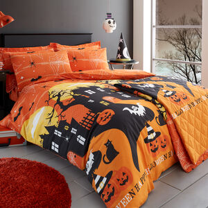 SINGLE DUVET COVER Haunted House