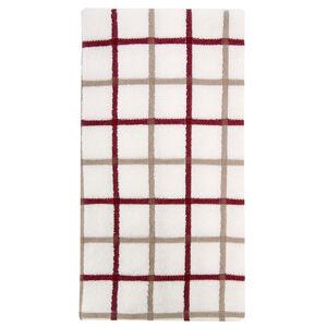 Multi Check Tea Towel Berry