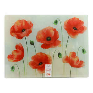Poppy Glass Worktop Saver