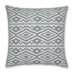 Aztec Duck Egg Cushion 58x58cm