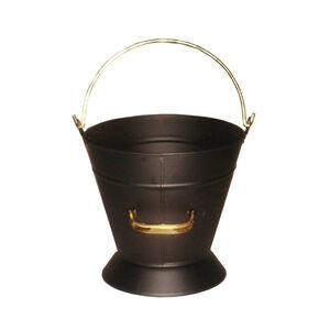 Silverflame Waterloo Coal Bucket with Brass Handle