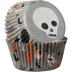 Wilton Halloween Skulls 75 Cupcake Cases