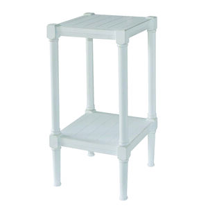 Henley Rustic White Hall Plant Stand