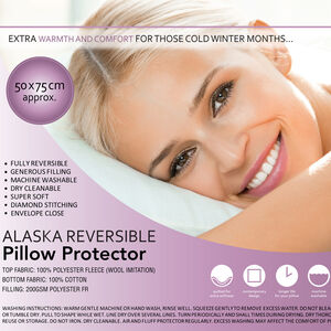 Alaska Reversible Pillow Protector