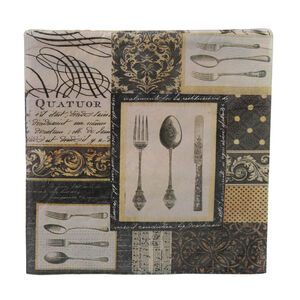 Damask Cutlery Napkins 20 Pack