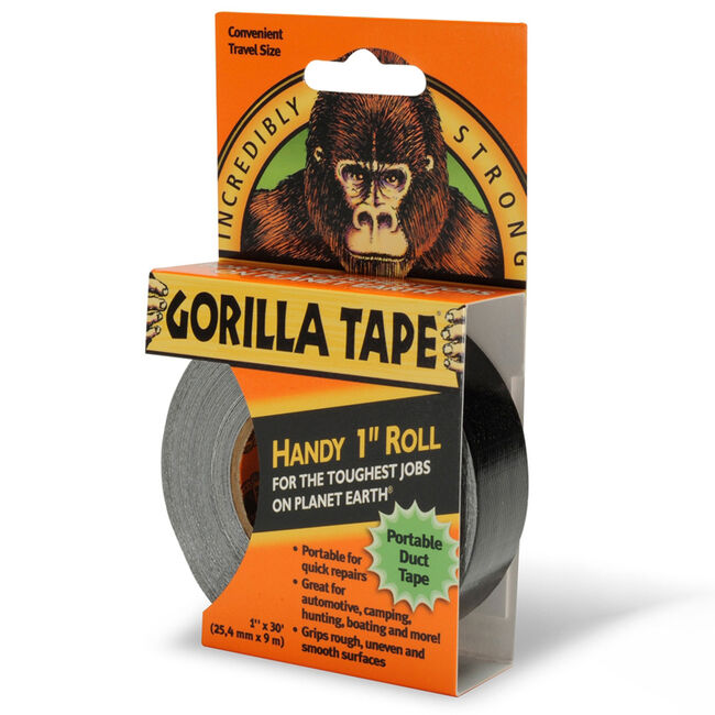 Gorilla Handy Roll Black Tape 9m