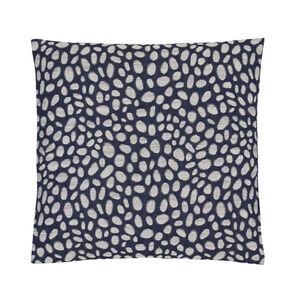 Pebbles Navy Cushion 58cm x 58cm