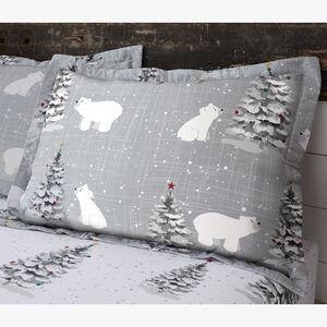 Polar Bears Oxford Pillowcase Pair