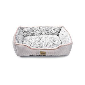 Quilted Soft Fleece Pet Bed Medium