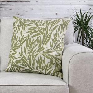 Ruth Floral Green Cushion 58cm x 58cm