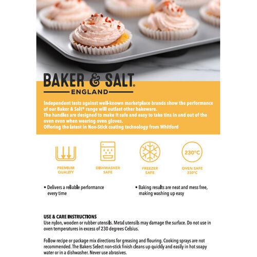 Baker & Salt Silver Pizza Tray 31cm